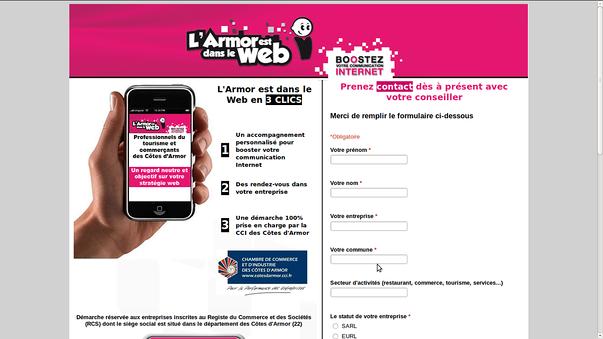 armor est dans le web: diagnostic web pour entreprises