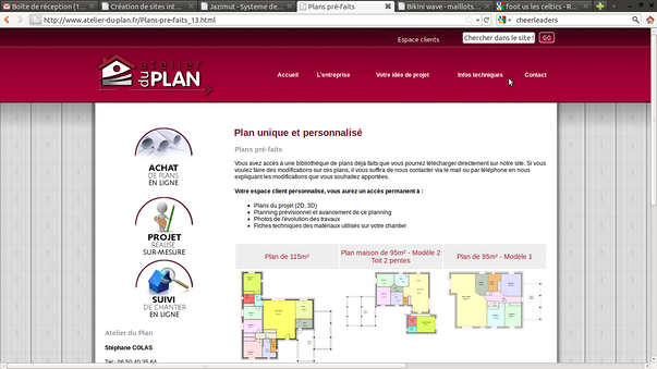 atelier du plan pleneuf-val andre -erquy, pour la creation de son site-web