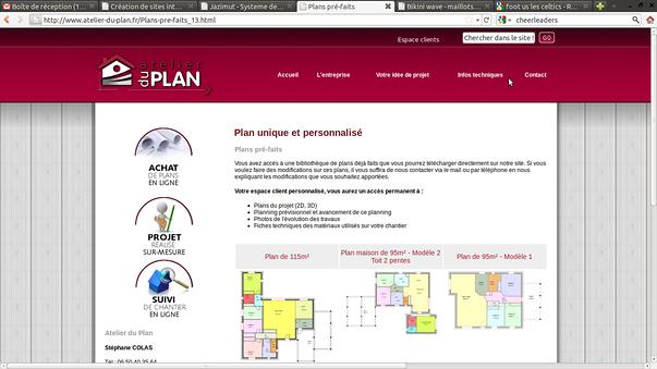atelier du plan pleneuf-val andre -erquy, pour la creation de son site-web