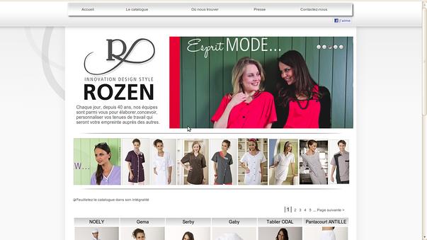 rozen-creation cantin lamballe, pour la creation de son site-web